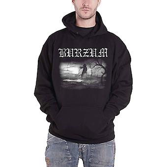 Burzum Hoodie Aske 2013 Band Logo new Official Mens Black Pullover