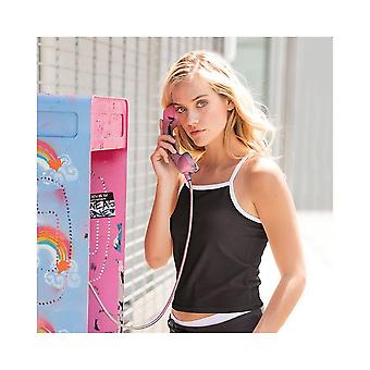 Skinni Fit Womens/Ladies Feel Good Contrast Strappy Vest