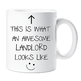 This Is What An Awesome Landlord Looks Like V2 Mug