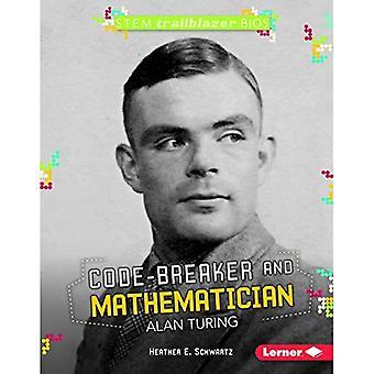 Code Breaker y matemático Alan Turing (vástago Trailblazer Bios)