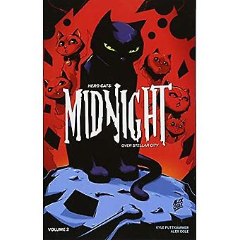 Hero Cats: Midnight Over Stellar City Volume 2