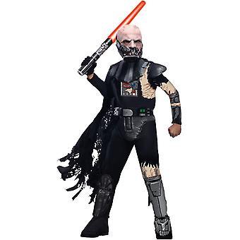 Zničený dětský kostým Darth Vader