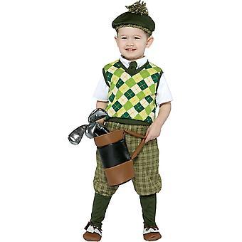 Toekomstige Golfer peuters kostuum