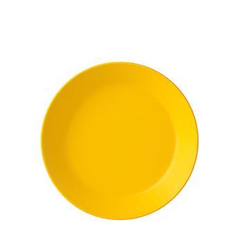 Mepal Bloom Melamine Deep Plate, Pebble Yellow