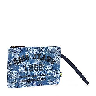 Lois branded cosmetic bag made with canvas Malibu collection 601002