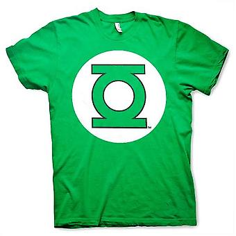 Miesten DC Comics Originals Vihreä Lyhty logo T-paita