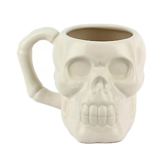 Skull Shaped Ceramic Coffee Mug
