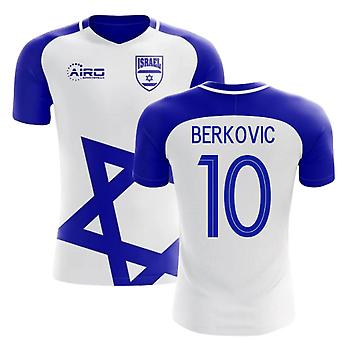 2018-2019 Israel Home concept voetbal shirt (BERKOVIC 10)