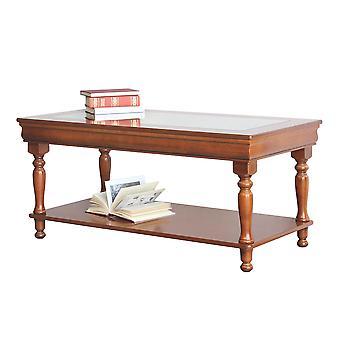 Rechthoekige salontafel piano Cristallo Luigi Filippo