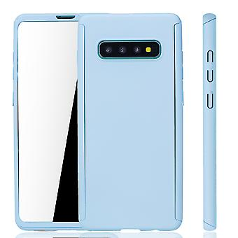 Samsung Galaxy S10 Plus Phone Case Protection Case Full Cover Tank Protection Foil Light