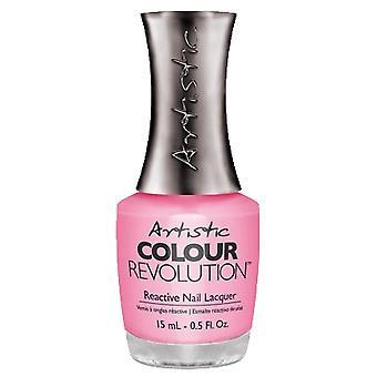 Artistic Colour Revolution Retro Redux Collection Lacca reattiva Nail - Frullati e spezzacuori 15ml (2300016)
