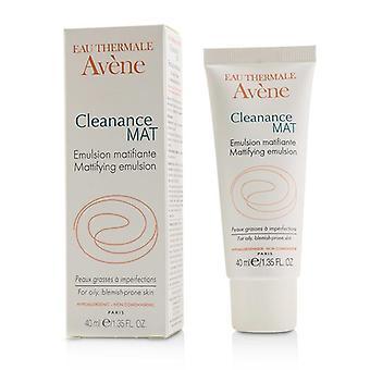Avene Cleanance mat mattende emulsjon-for fet lyte-utsatt hud-40ml/1.35 oz