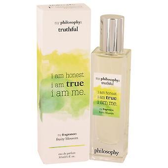 Philosophy truthful eau de parfum spray by philosophy 537698 30 ml