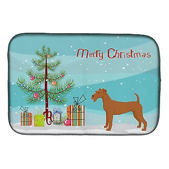 Carolines Treasures CK3546DDM irsk Terrier juletre Dish tørking mat