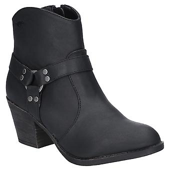 Rocket Dog Womens Stellan Zip Boot Zwart