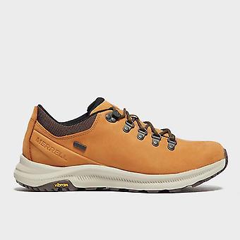 New Merrell Men's Ontario Waterproof Walking Shoes Brown