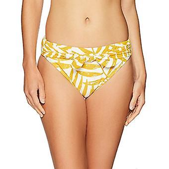 Carmen Marc Valvo Femme-apos;s Bikini Bottom Swimsuit avec Shaping Liner Detail, Safran, X-Small
