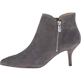 Adrienne Vittadini Womens Senji Leather Pointed Toe Ankle Fashion Boots