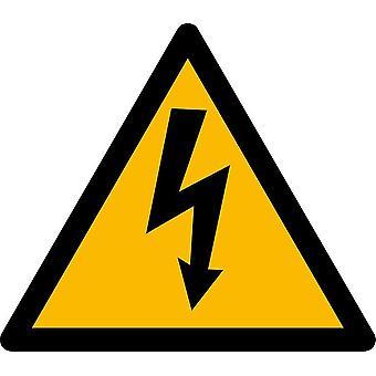 Autocollant Sticker Macbook Laptop Danger Electrique Electricite Armoire Vinyle