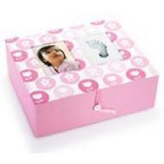 Innehållsförpackning Baby Prints Rosa