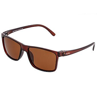 Simplify Ellis Polarized Sunglasses - Brown/Brown