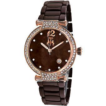 Jivago Women's Bijoux Brown MOP Dial Watch - JV2212