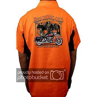 Camisa de trabajo mecánico motorista