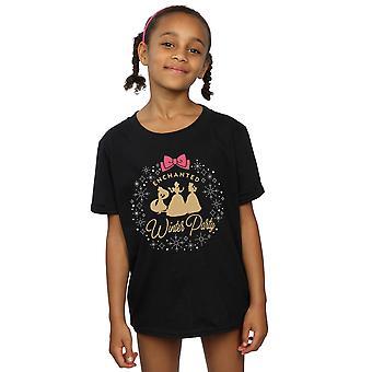 Disney Girls Princess Enchanted Winter Party T-Shirt