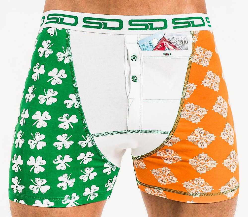 Smuggling Duds Stash Boxers - St Patrick's