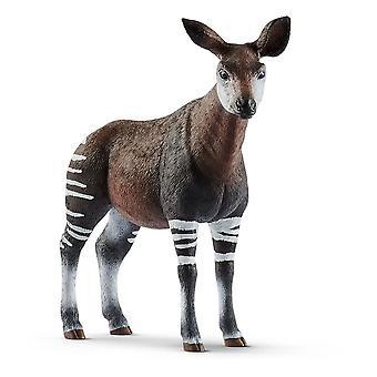Schleich Wild Life Okapi Toy Figure (14830)