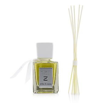 Millefiori Zona Fragrance Diffuser - Amber & Incense - 100ml/3.38oz