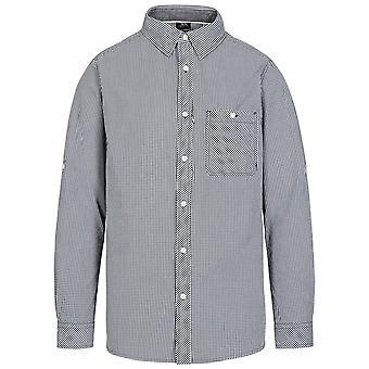 Camisa de algodão Trespass Mens Yaddlethorpe