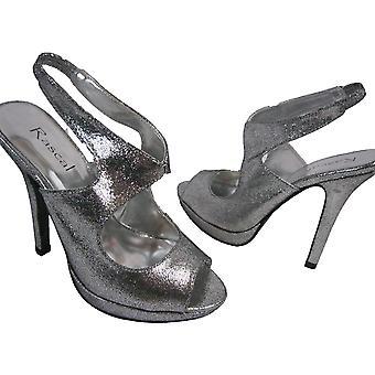 Rascal Cutaway Disco Sandals Heels