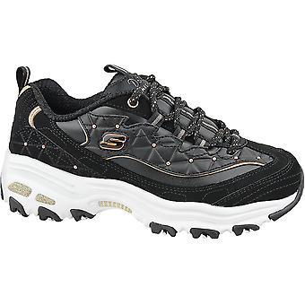 Skechers D'Lites  13087-BKRG Womens sneakers