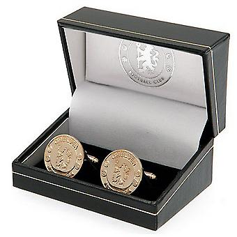 Chelsea FC Gold Plated Cuff-Links