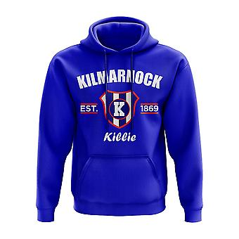 Kilmarnock Established Hoody (Royal)