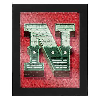 Letter N Jigsaw & Frame by Ridley?s