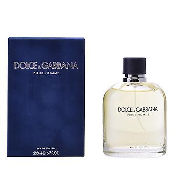 Miesten parfyymi Pour Homme Dolce & Gabbana EDT (200 ml) (200 ml)