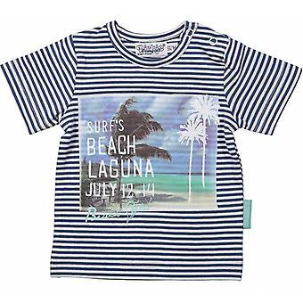 Dirkje Boys T-Shirt Stripes Laguna