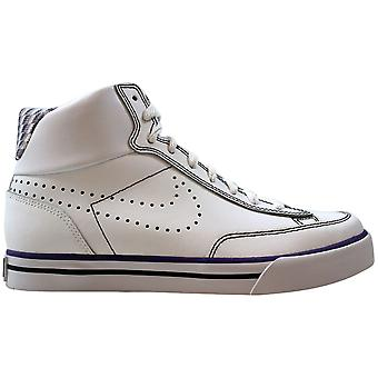 Nike Navaro High White/Black-Club Purple 386723-101 Grade-School