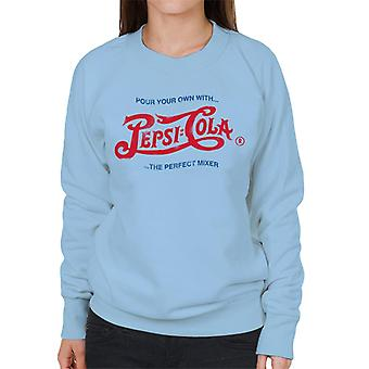 Pepsi Cola 1943 Distressed Logo Pour Your Own Women's Sweatshirt