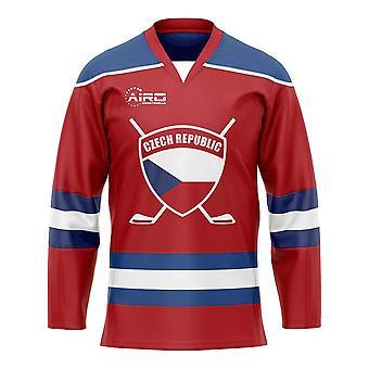 Tjeckien Hem Ishockey Skjorta