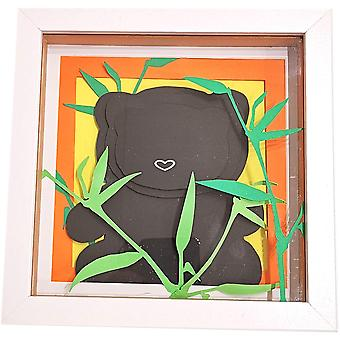 Panda & Bamboo Frame by Sweet Pea Designs