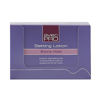 Avec Headgear Avec Pro Setting Lotion Extra Hold - 24 Pack