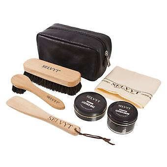 LUXURY SHOE CARE KIT BY SELVYT