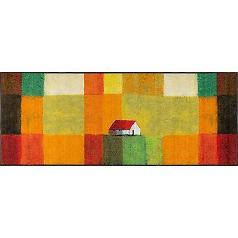 wash+dry Fußmatte Meadow Lands 75 x 190 cm waschbare Fußmatte Schmutzmatte