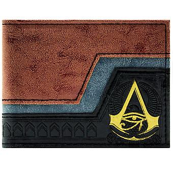 Assassins Creed Origins Embossed Symbol ID & Card Bi-Fold Wallet
