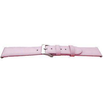 العجل الجلود ووتش حزام الوردي ظلال الباستيل أحجام 10mm إلى 20mm الذهب والأبازيم الفولاذ المقاوم للصدأ