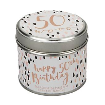 Luxe 50th Birthday Scented Candle| Gifts from Handpicked