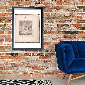 William Blake - Water Poster Print Giclee